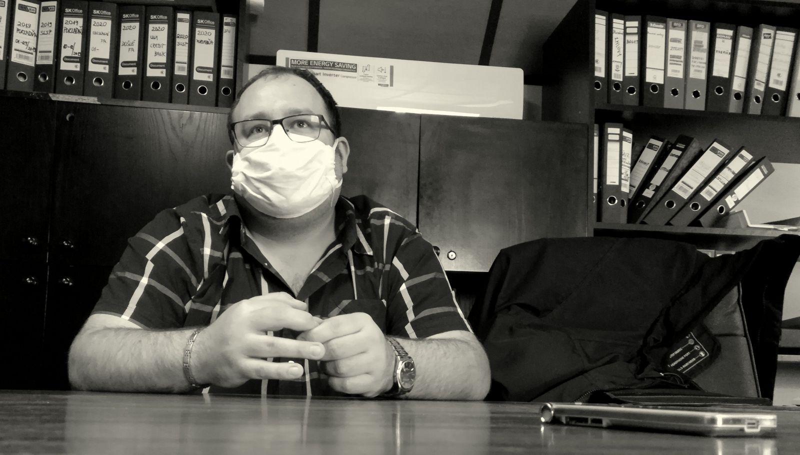 35-ročný Matúš Štofko koronavírus porazil ľahko. Takmer bez symptómov.