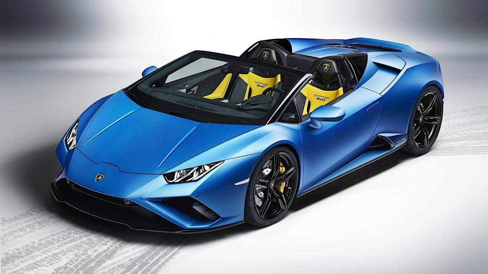 Lamborghini Huracán zhadzuje strechu a prichádza o pohon všetkých štyroch kolies