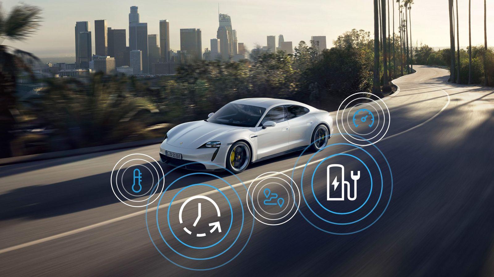 Porsche vylepšilo elektrický Taycan, ktorý je po novom ešte rýchlejší a inteligentnejší