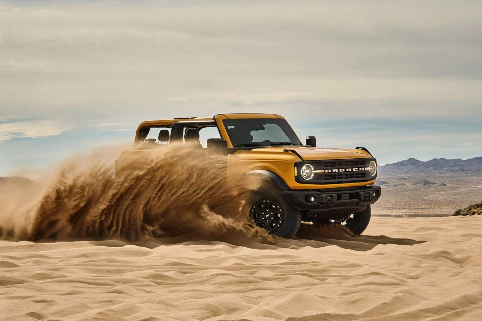 Znovuzrodené Bronco je obrovský hit. Ford už hlási vyše 230-tisíc záväzných rezervácii
