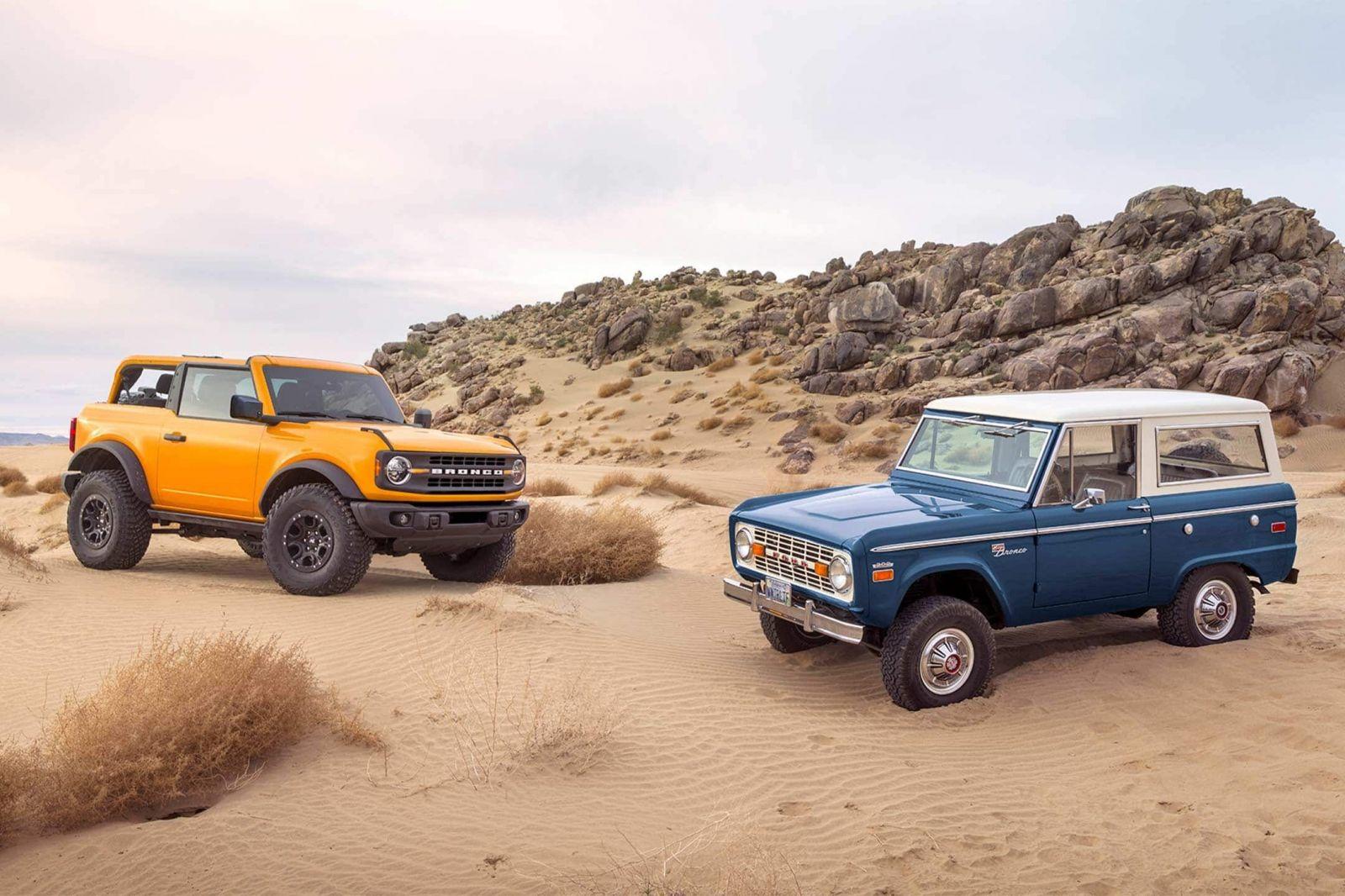 Veľkolepý návrat legendy v retro štýly. Ford po 25 rokoch znovuzrodil slávne Bronco