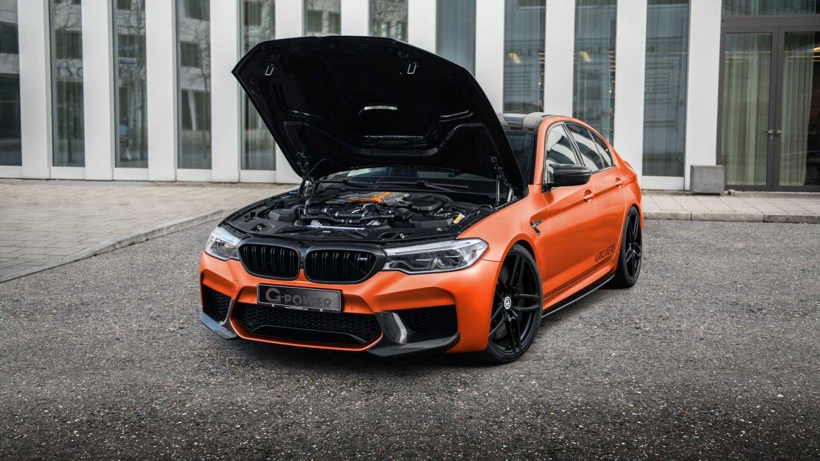G-Power vzal do parády BMW M5, výsledkom je 840-koňová beštia