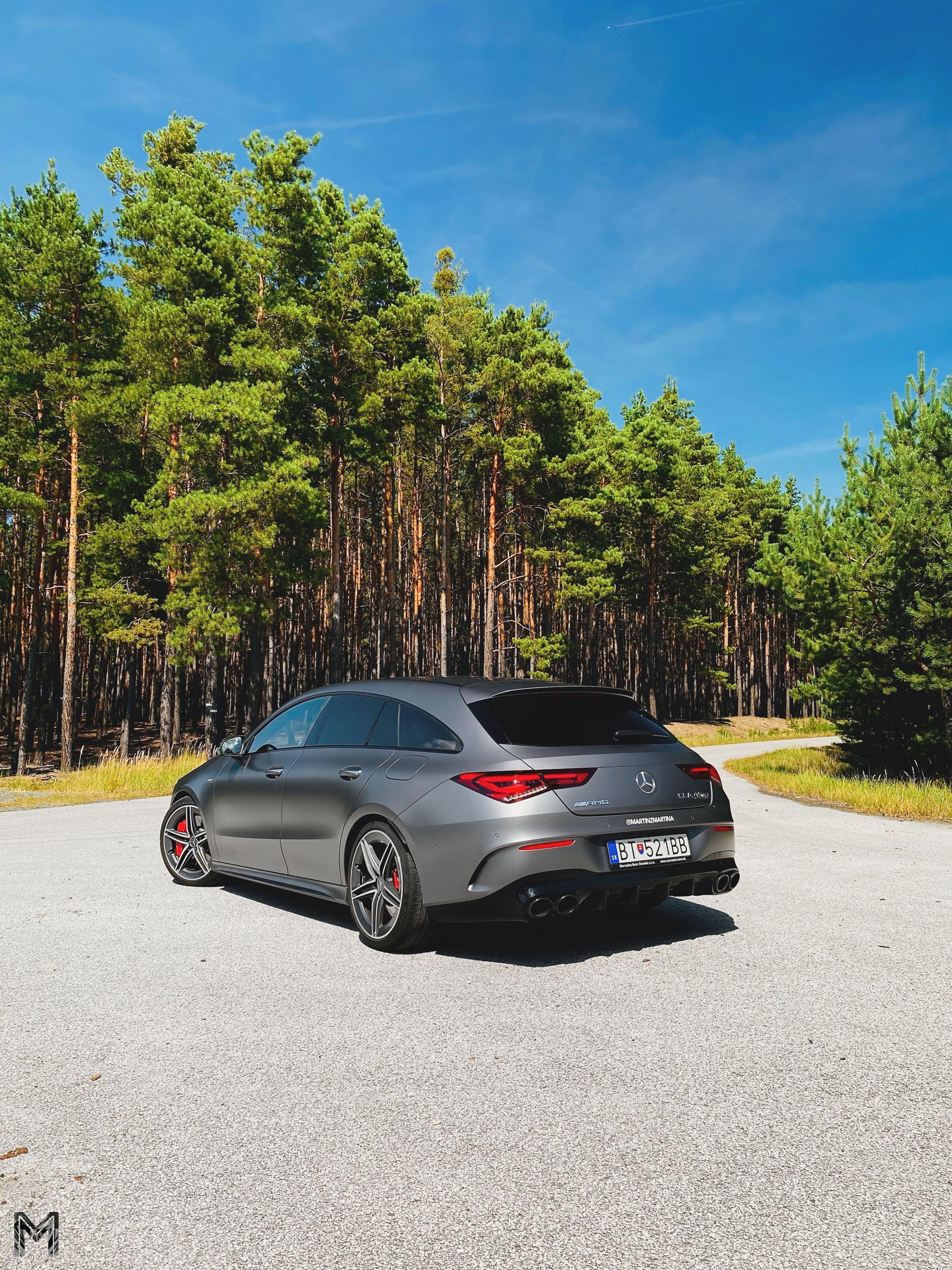 Mercedes-AMG CLA 45 S test oktober