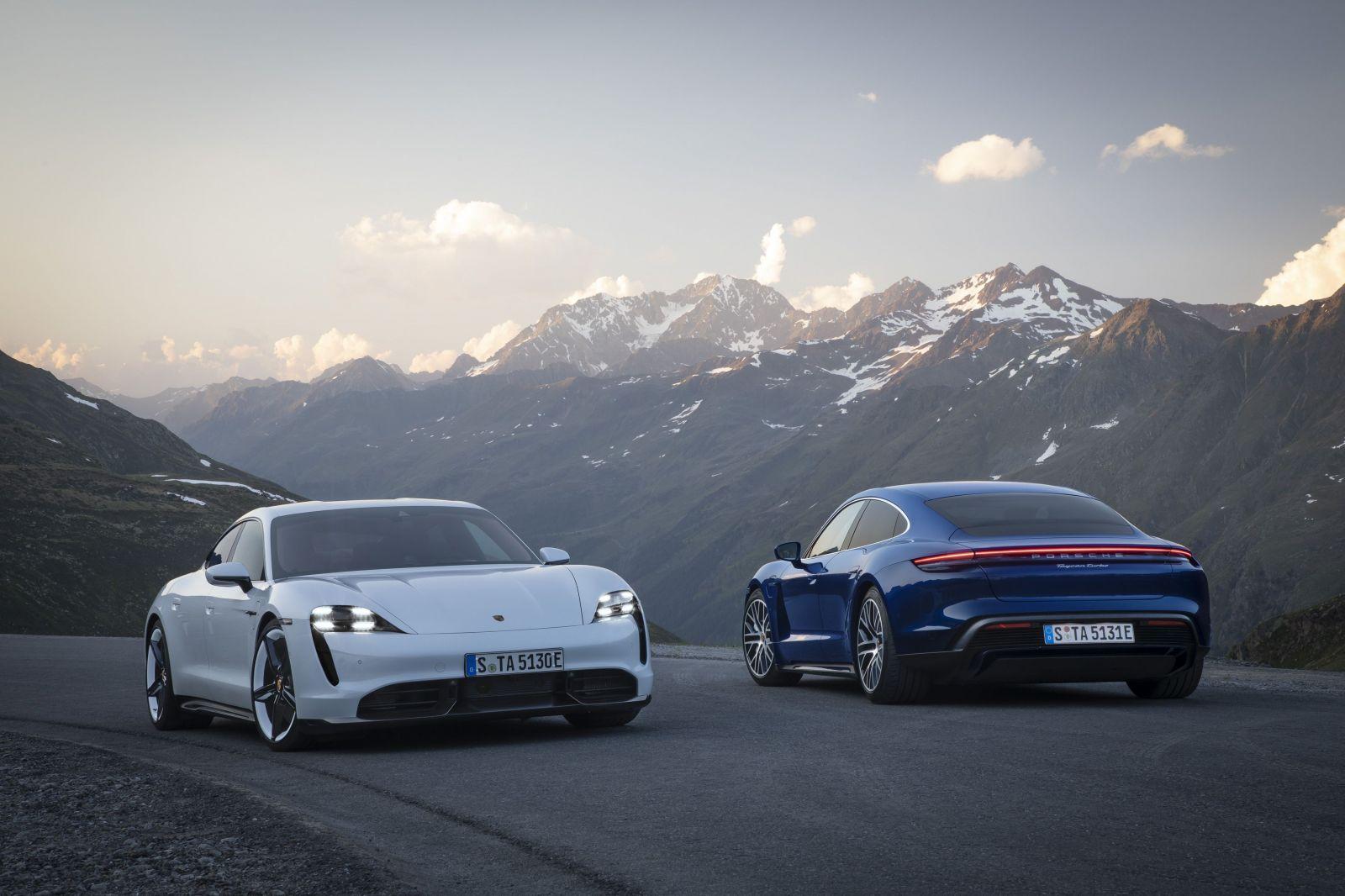 Prvé vzájomný súbo ukazuje, prečo sa Tesla nemôže porovnávať s elektrickým Porsche