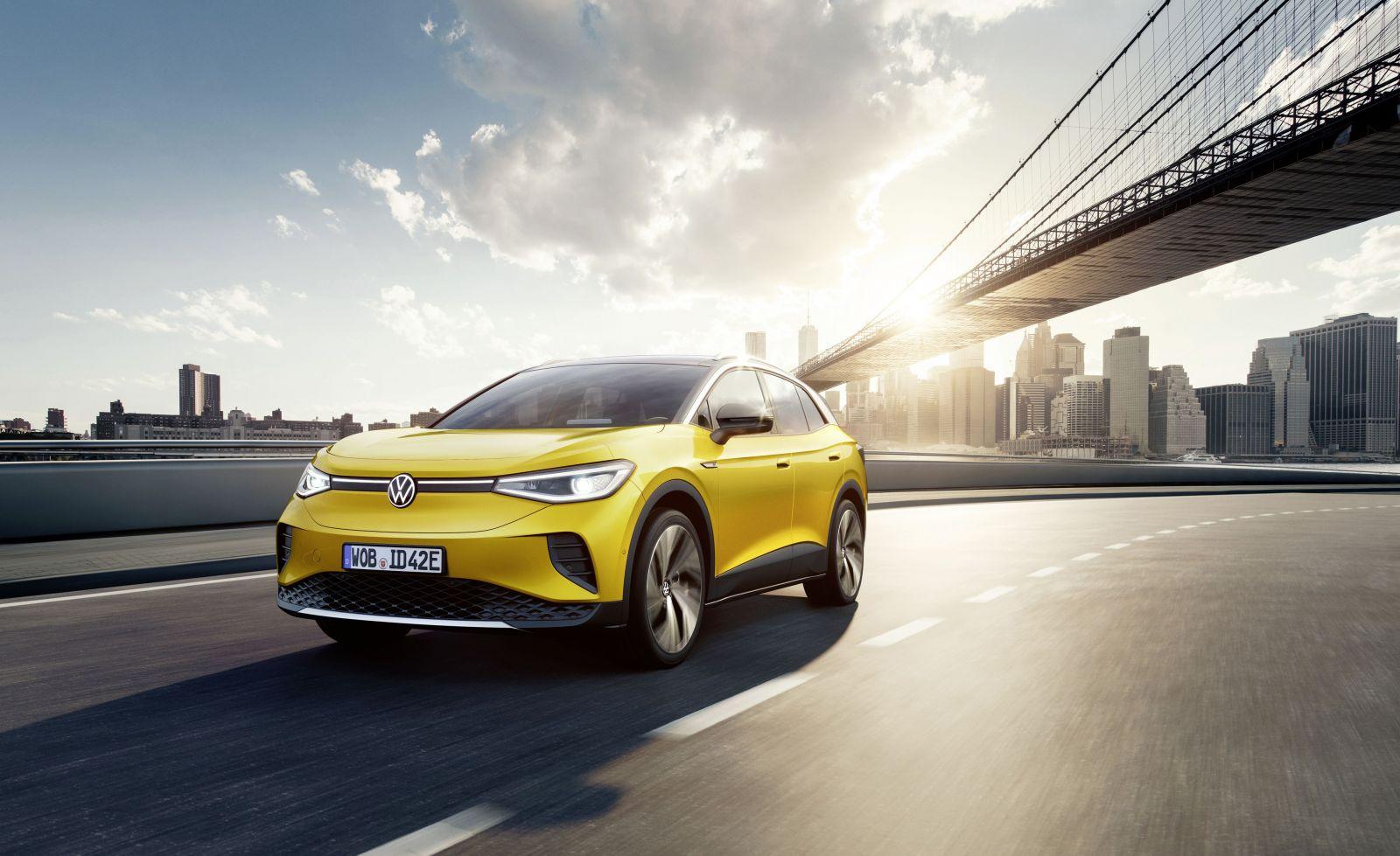 Elektrický Volkswagen ID.4 je dvojča Škody Enyaq s dojazdom až 520 kilometrov