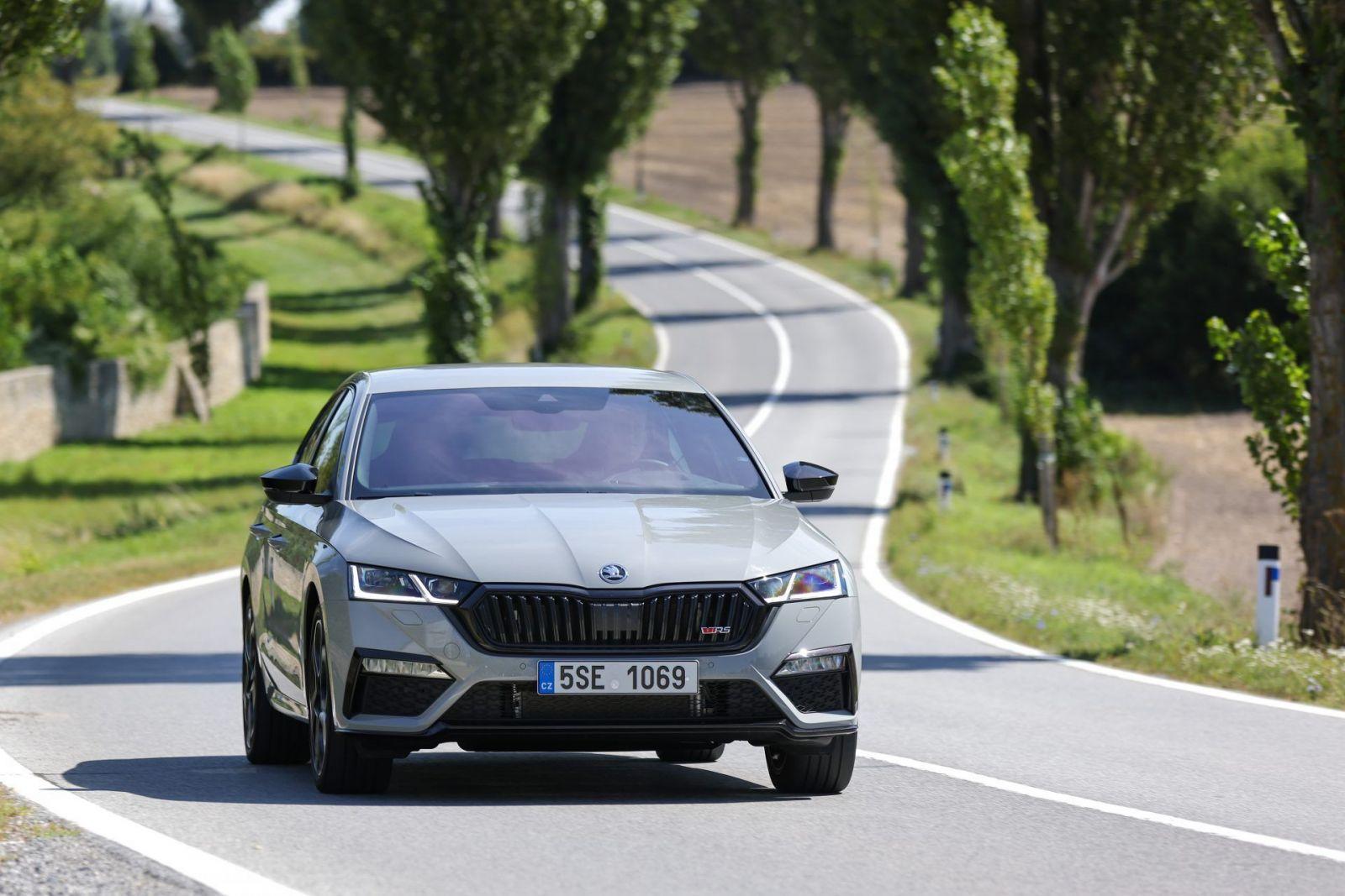 Škoda Octavia RS spoznáva slovenské ceny