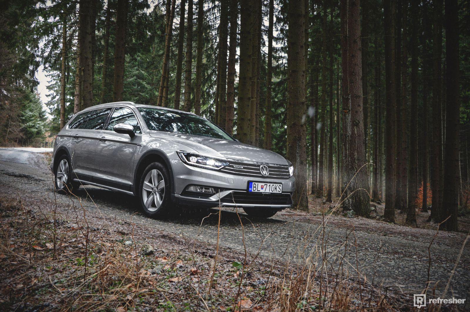Volkswagen Passat Alltrack 2.0 BiTDI 4Motion: Všestranný temperament (Test)