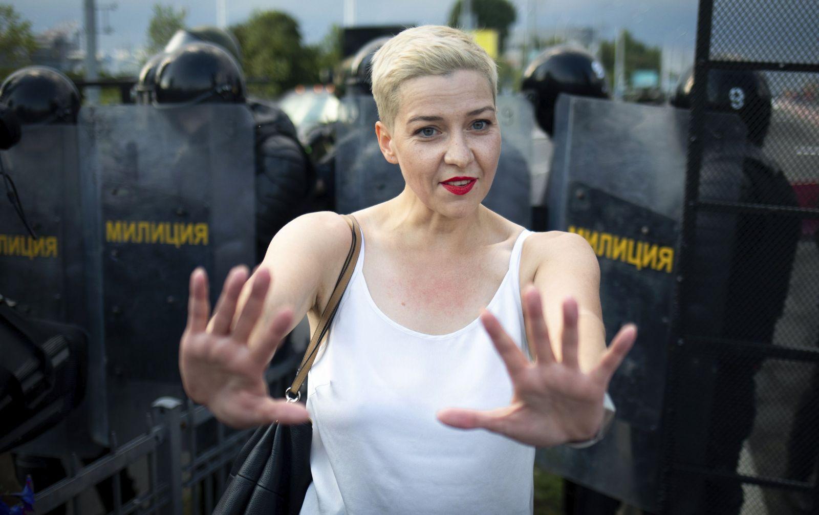 Bieloruské protesty opäť naberajú na sile, v krajine miznú predstavitelia opozície. Mariu Kolesnikovu uniesli maskovaní muži
