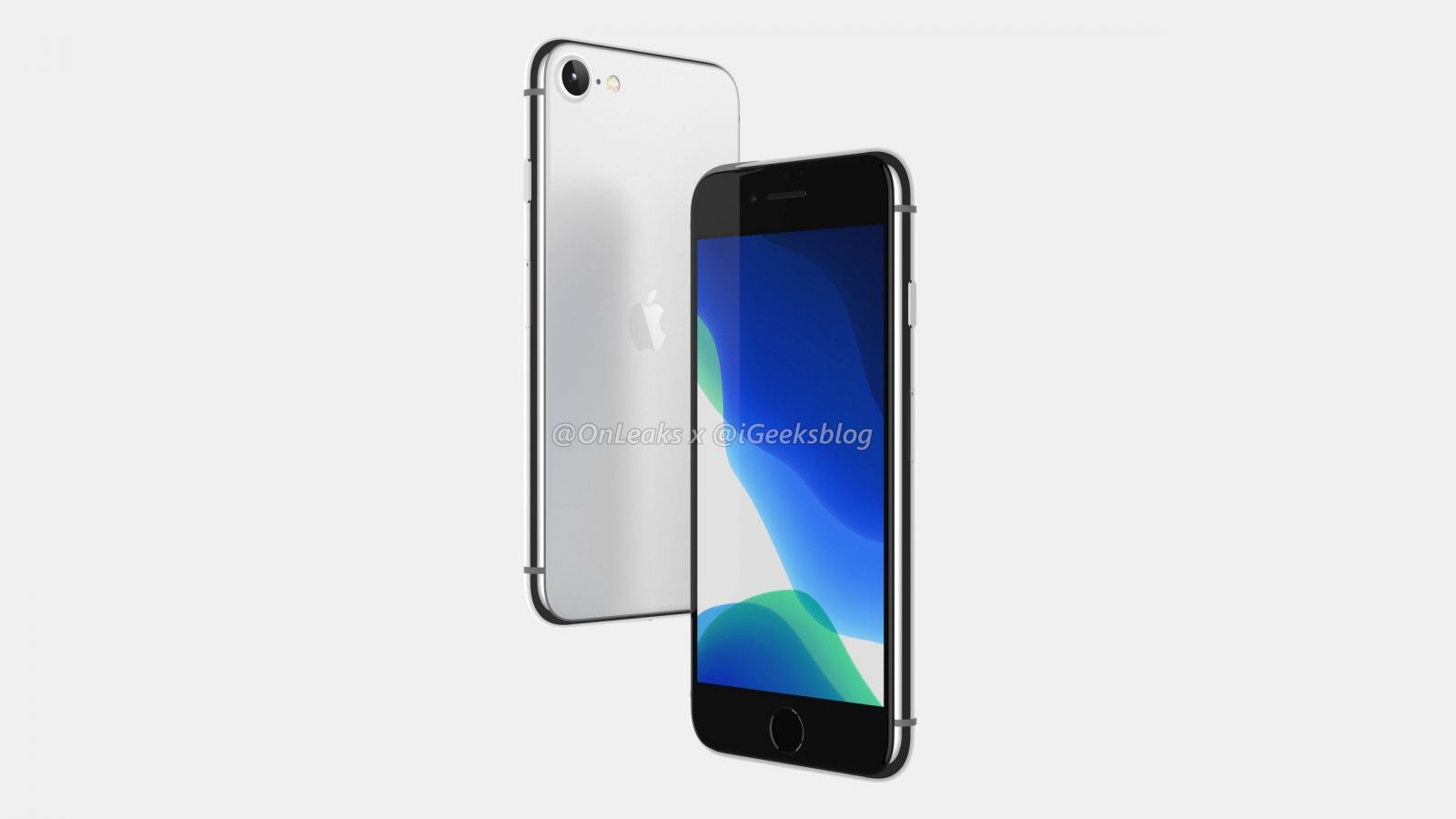 Možná podoba iPhonu SE 2, leaker Steve H.McFly