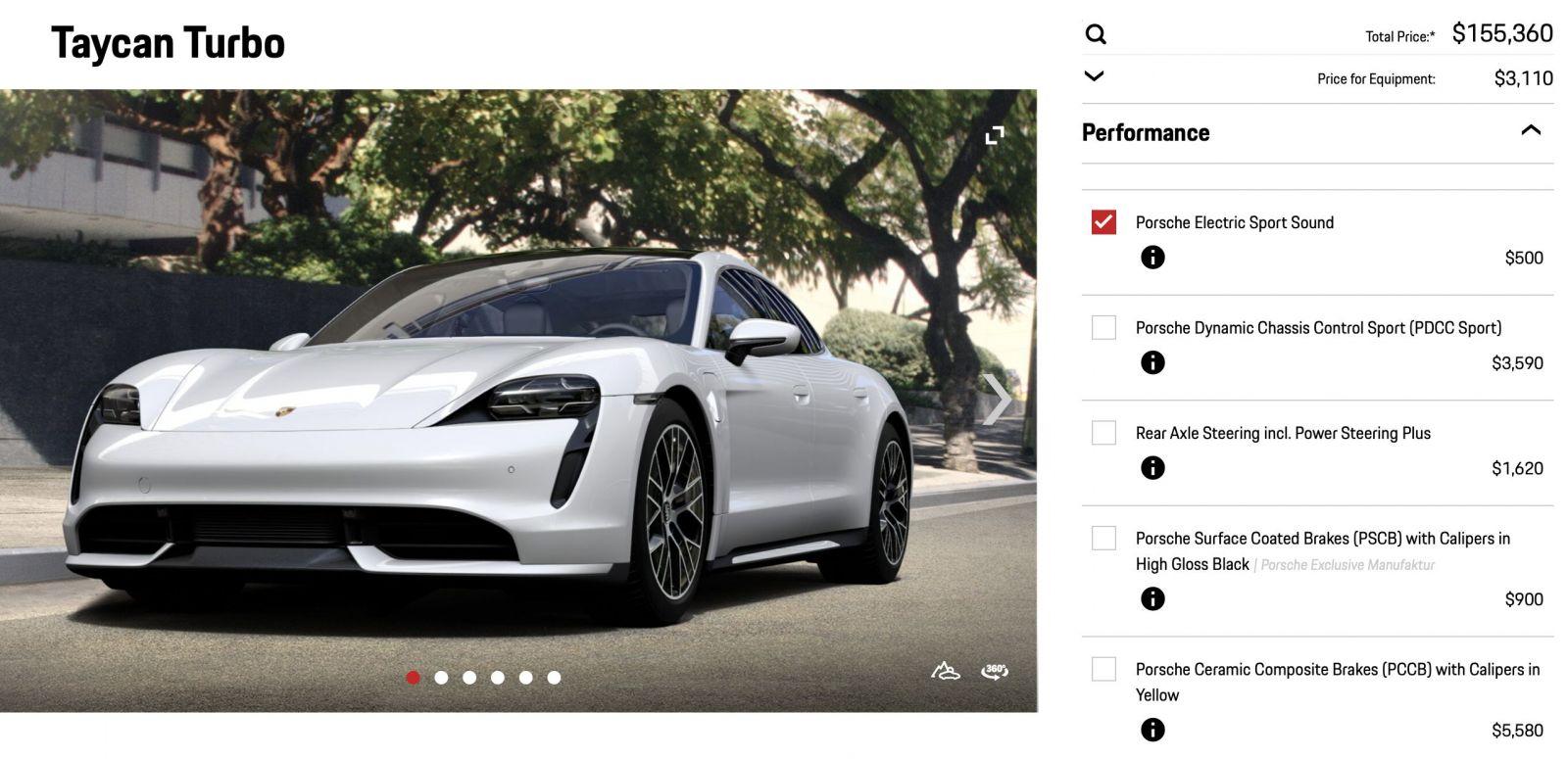 Porsche si pýta 500 dolárov za športovo znejúcu MP3-ku v novom Taycane. Elektromobil ju bude hrať do exteriéru
