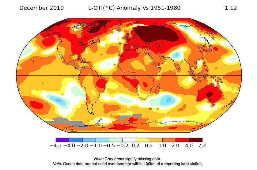 S našou planétou je to stále horšie. Rok 2019 bol najteplejším v histórii meraní na Zemi