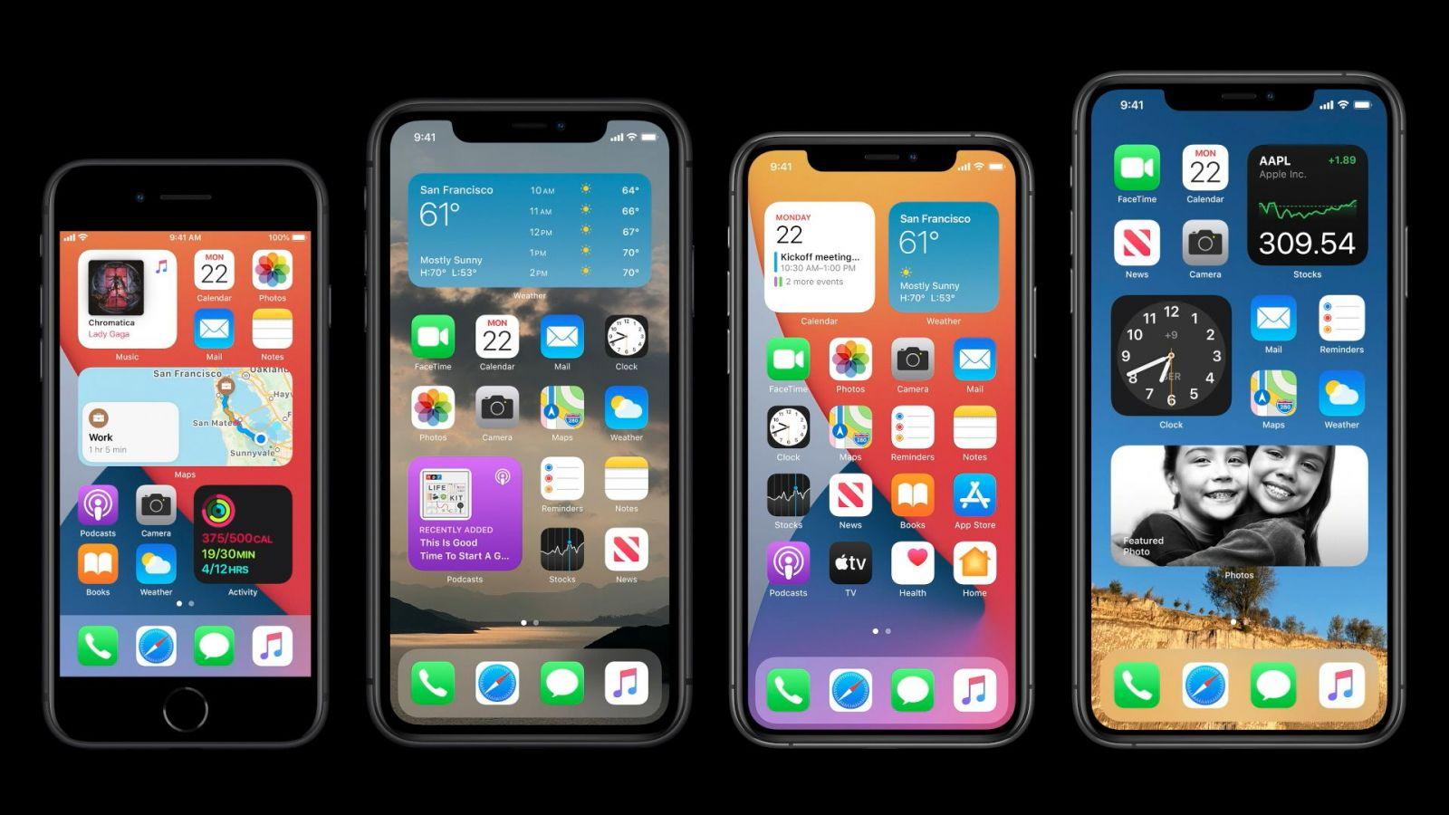 Apple ukázal, ako bude vyzerať tvoj iPhone, keď naň nainštaluješ nový iOS 14. Z Androidu okopíroval widgety aj ďalšie funkcie