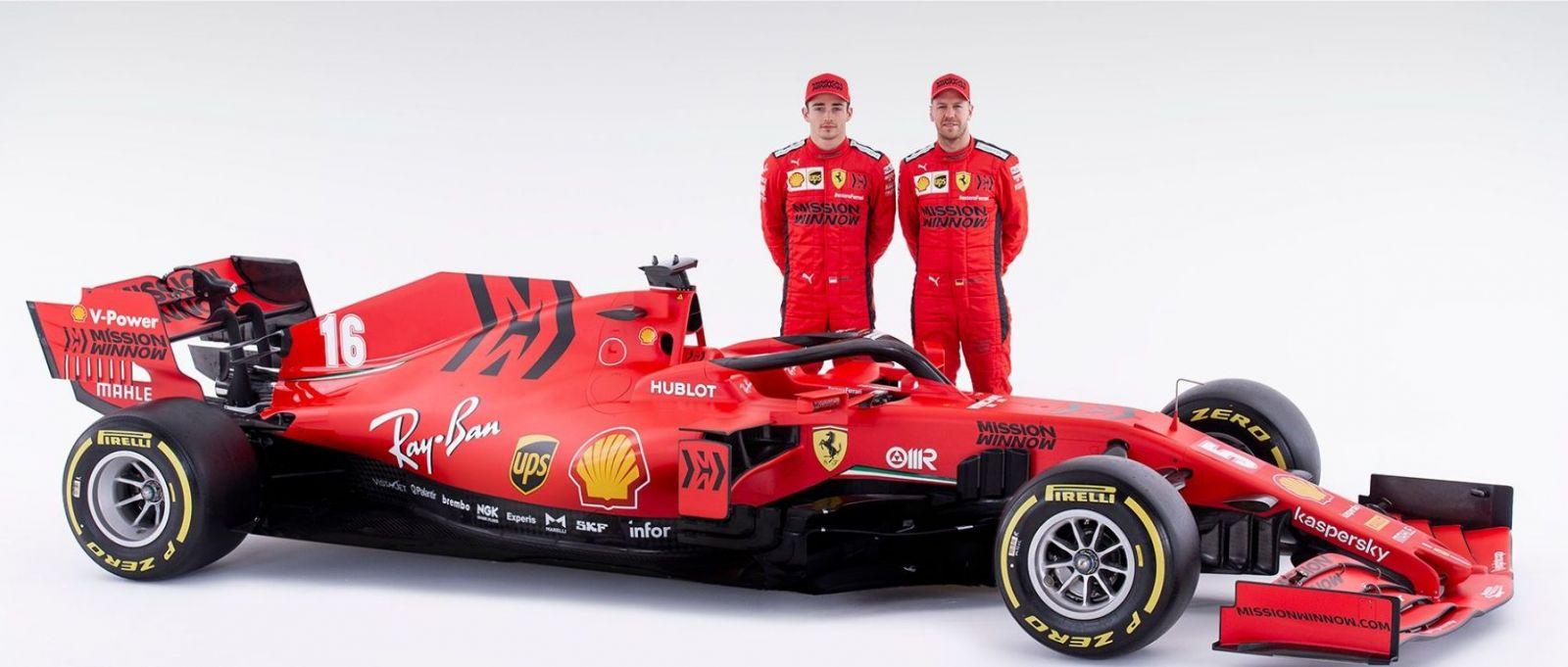 Ferrari ukázalo svoje nové auto pre novú sezónu F1