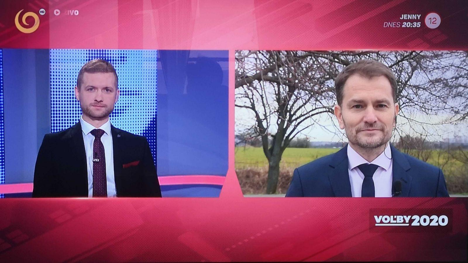 Igor Matovič v Televízii JOJ.