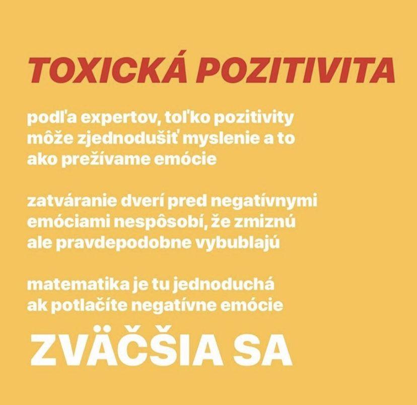 Počul si už o pozitivite, ktorá je toxická? Do života ti môže priniesť trápenie a depresiu