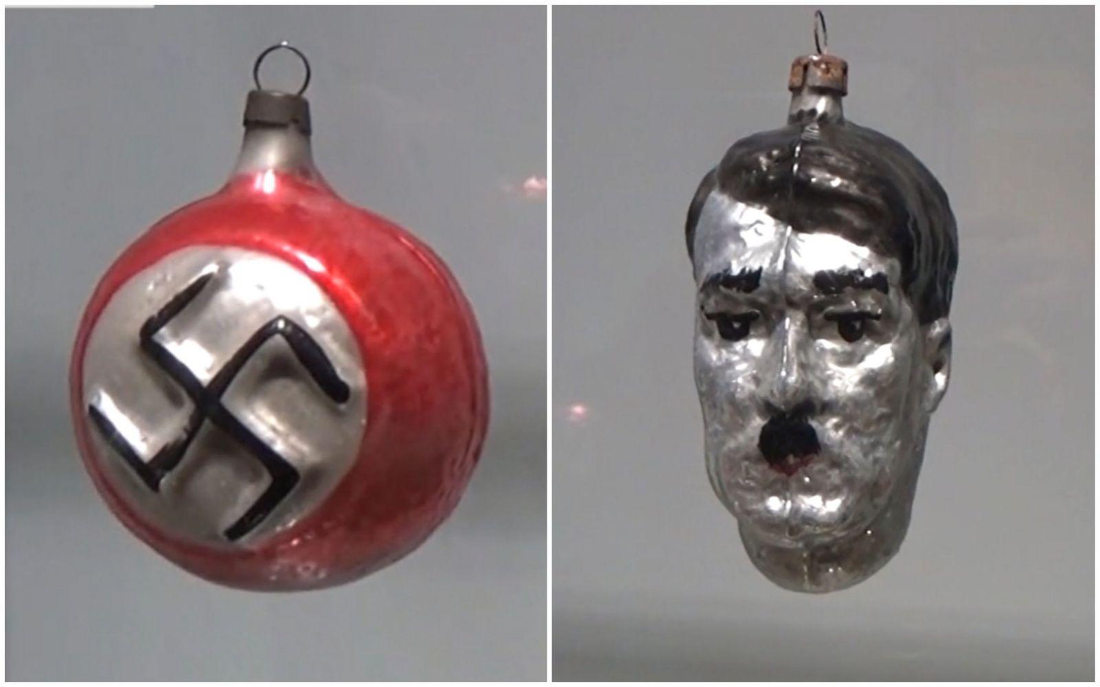 Čech prodával nacistické ozdoby na stromeček. Nechyběla ani hlava Adolfa Hitlera