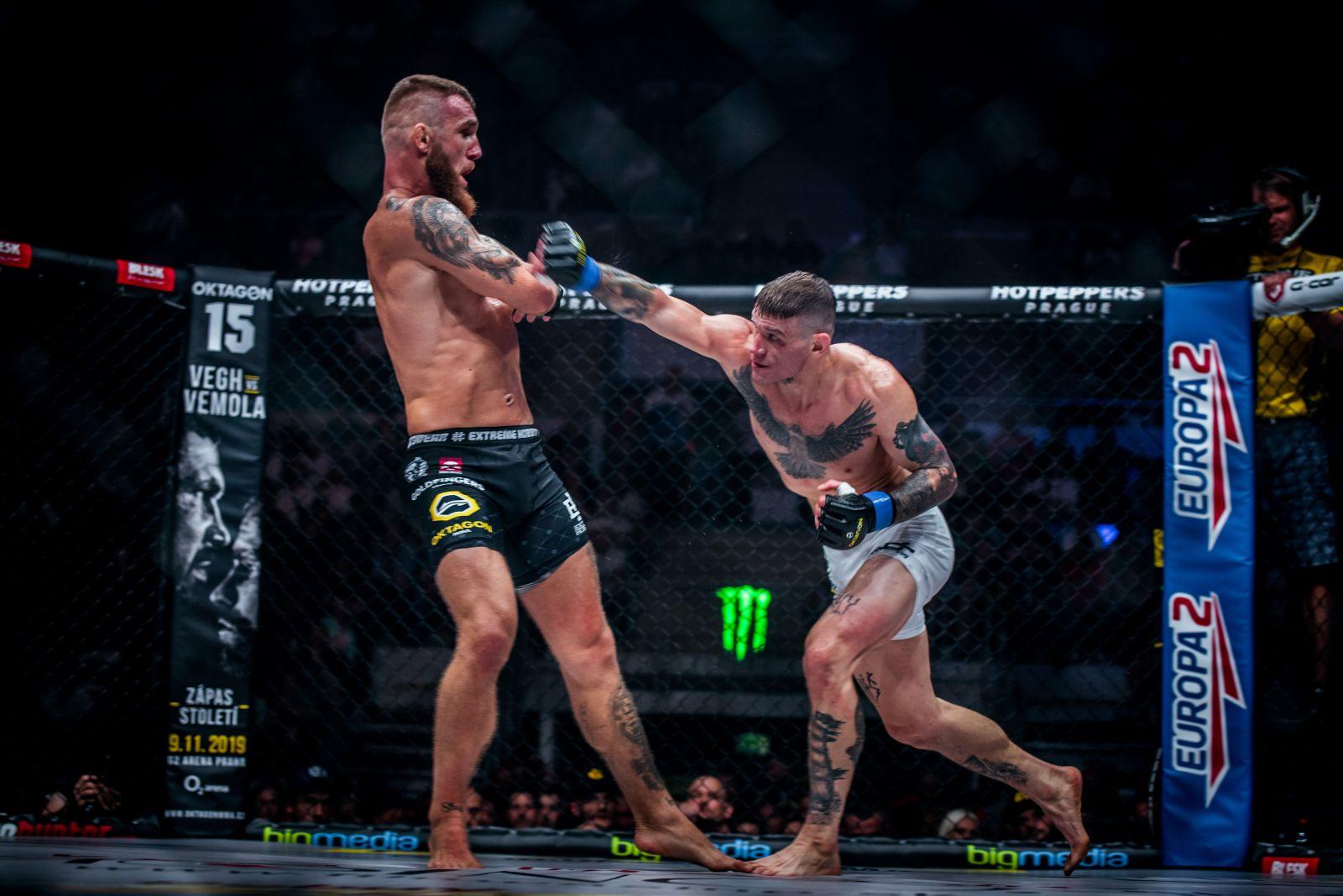 Nový šampion a bitva o krále Bratislavy. Oktagon fanouškům MMA přinesl další nezapomenutelný zážitek