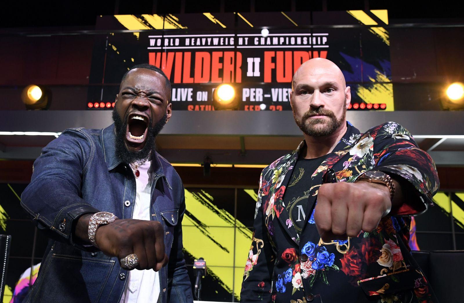 Megazápas Tyson Fury vs. Doantay Wilder se blíží. Jakého vítěze tipuje Kliko a Joshua?