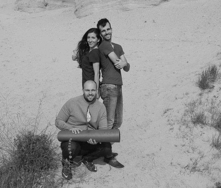 Zakladatelia Flexity: Lenka, Maťo a Tomáš