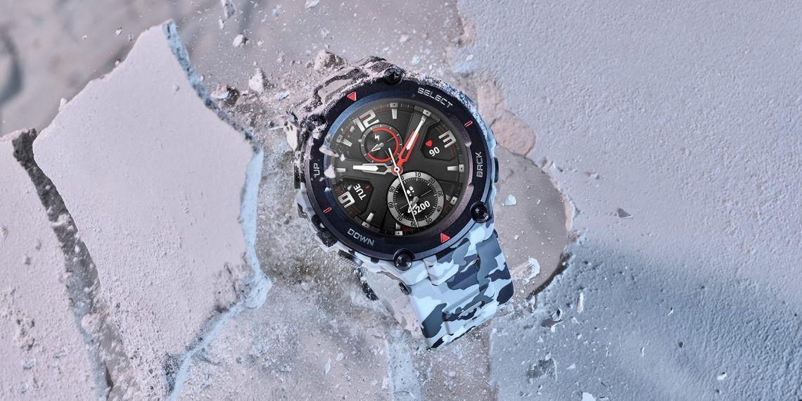 Superodolné smartwatch Amazfit T-Rex od Xiaomi vydržia aj teplotu od - 40°C po + 70°C