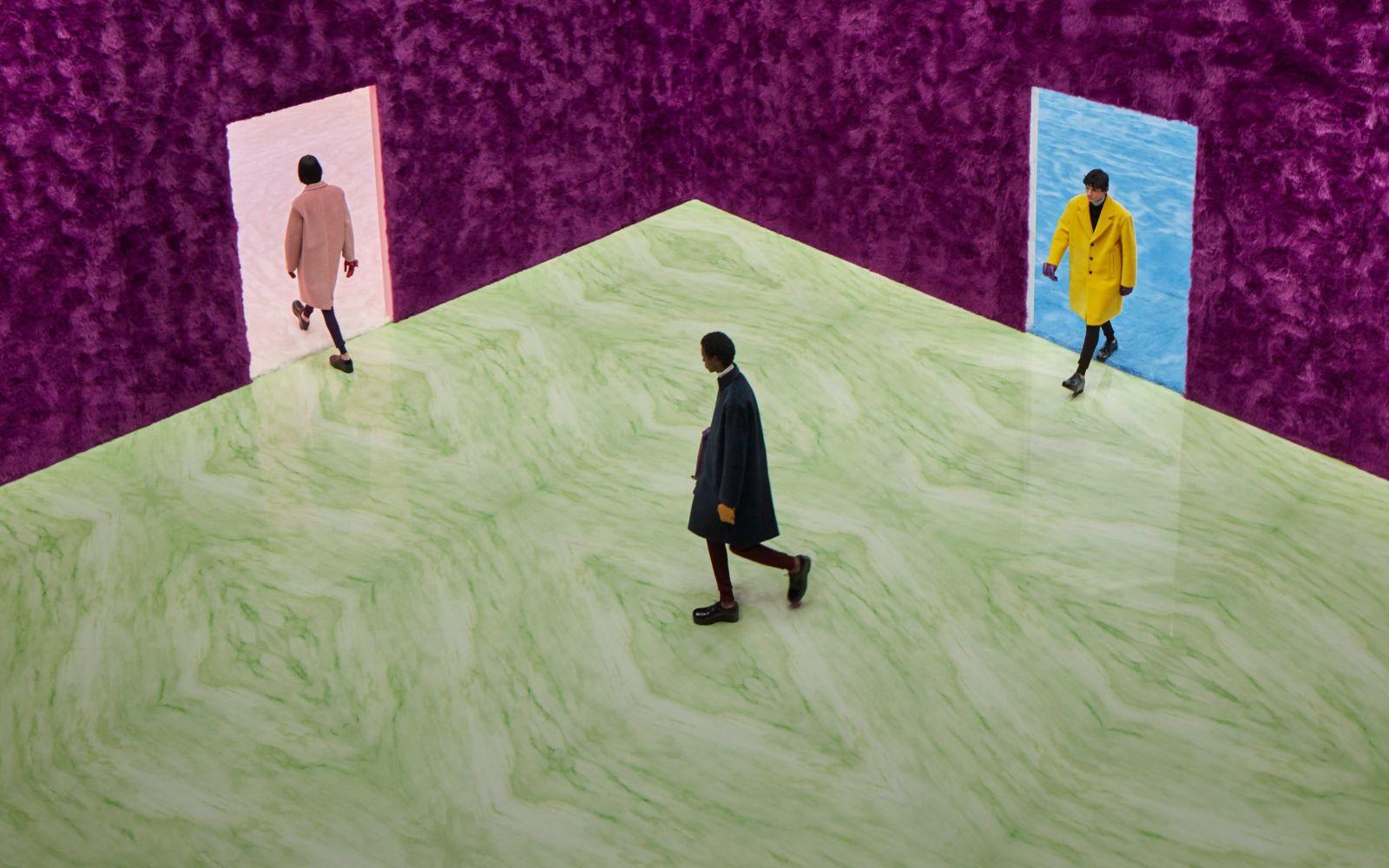 Raf Simons nezostáva nič dlžný svojej povesti ani v módnom dome Prada. Debutová pánska kolekcia ponúka eleganciu aj surovosť ulice