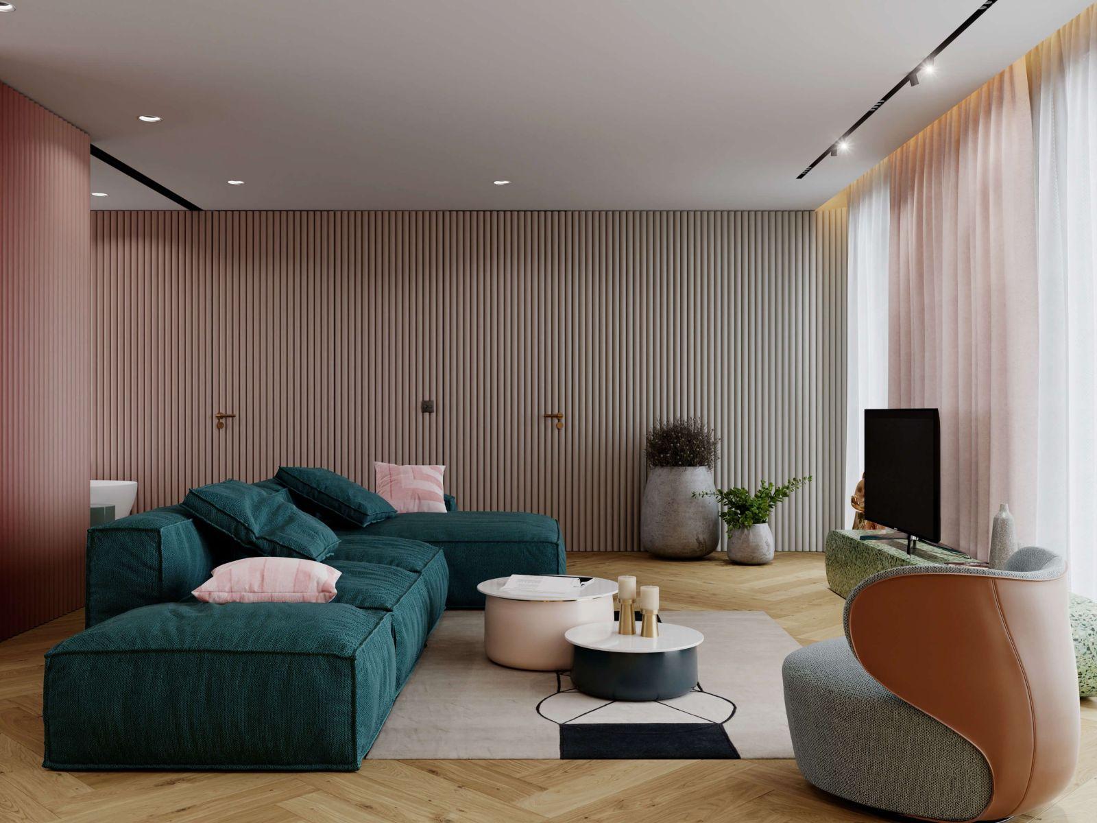 36b727be4e595 Soňa Skoncová s partnerom majú nové bývanie, v ktorom dominuje súčasný  dizajn a pestrá paleta