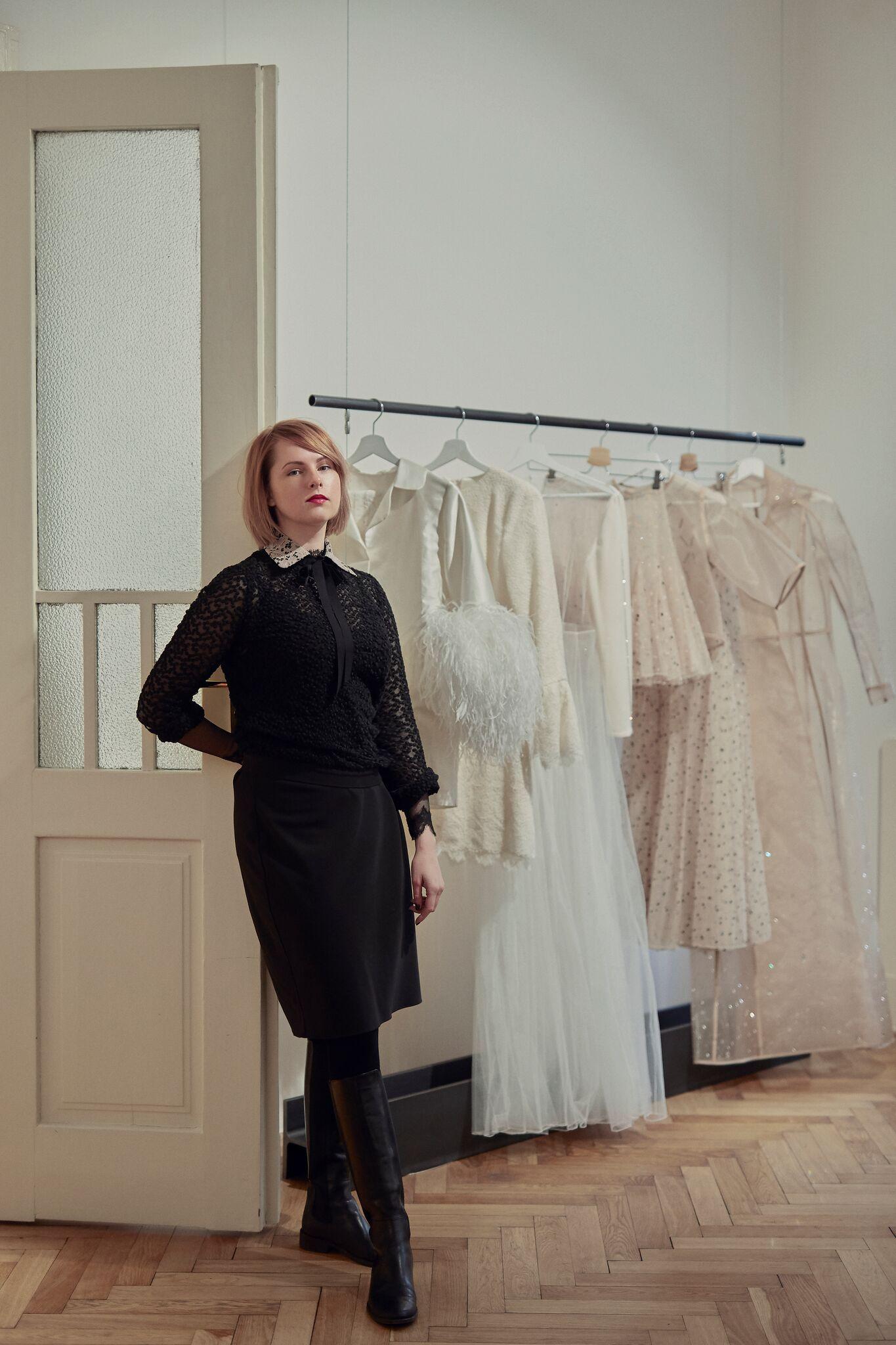 fdd0b521ebc8 Návrhářka Zuzana Kubíčková  Návrat k eleganci se dal očekávat. Móda ...
