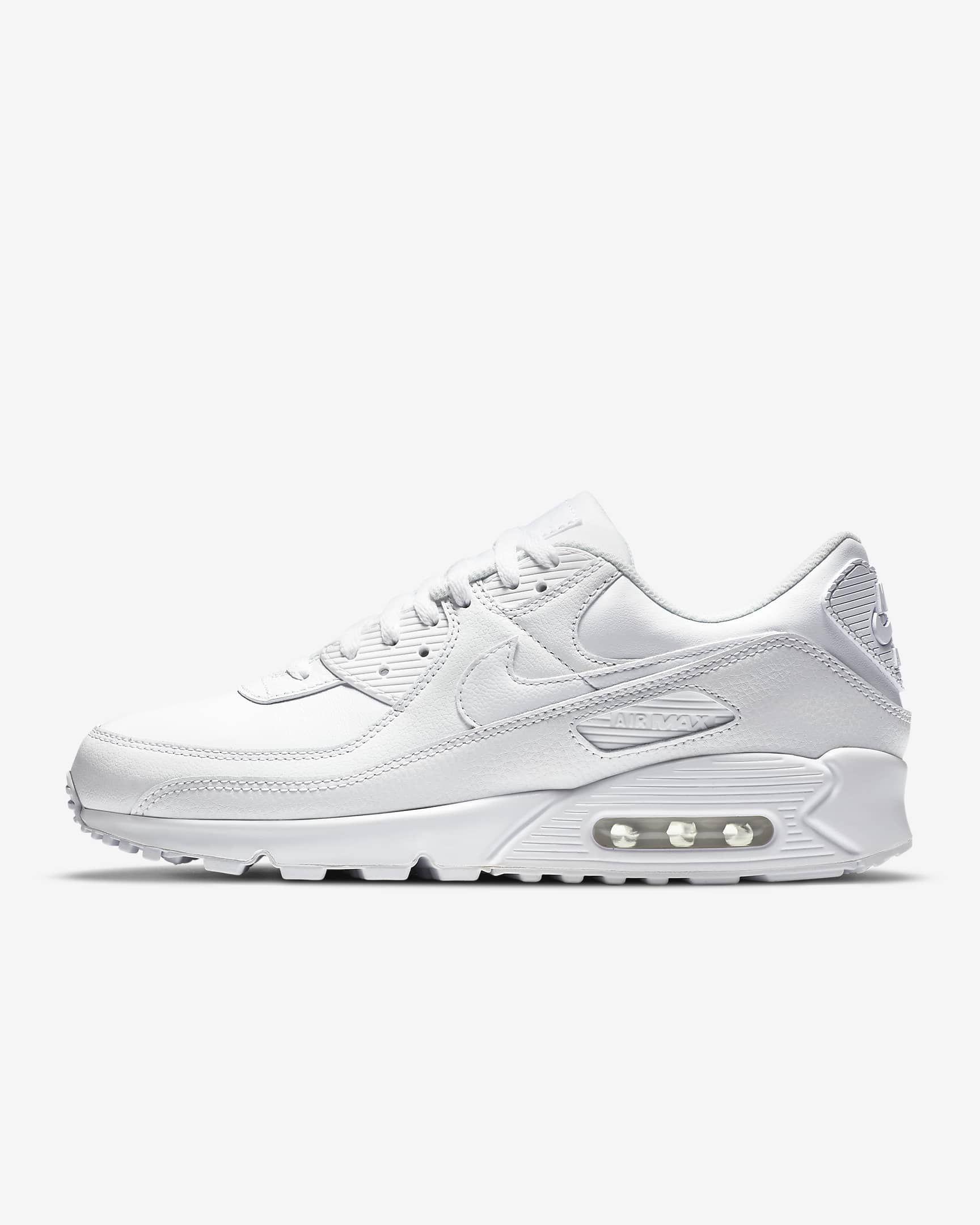 Preferuješ tenisky pred topánkami aj počas sychravých dní? Celokožené Nike Air Max 90 sú pre teba ideálnou voľbou