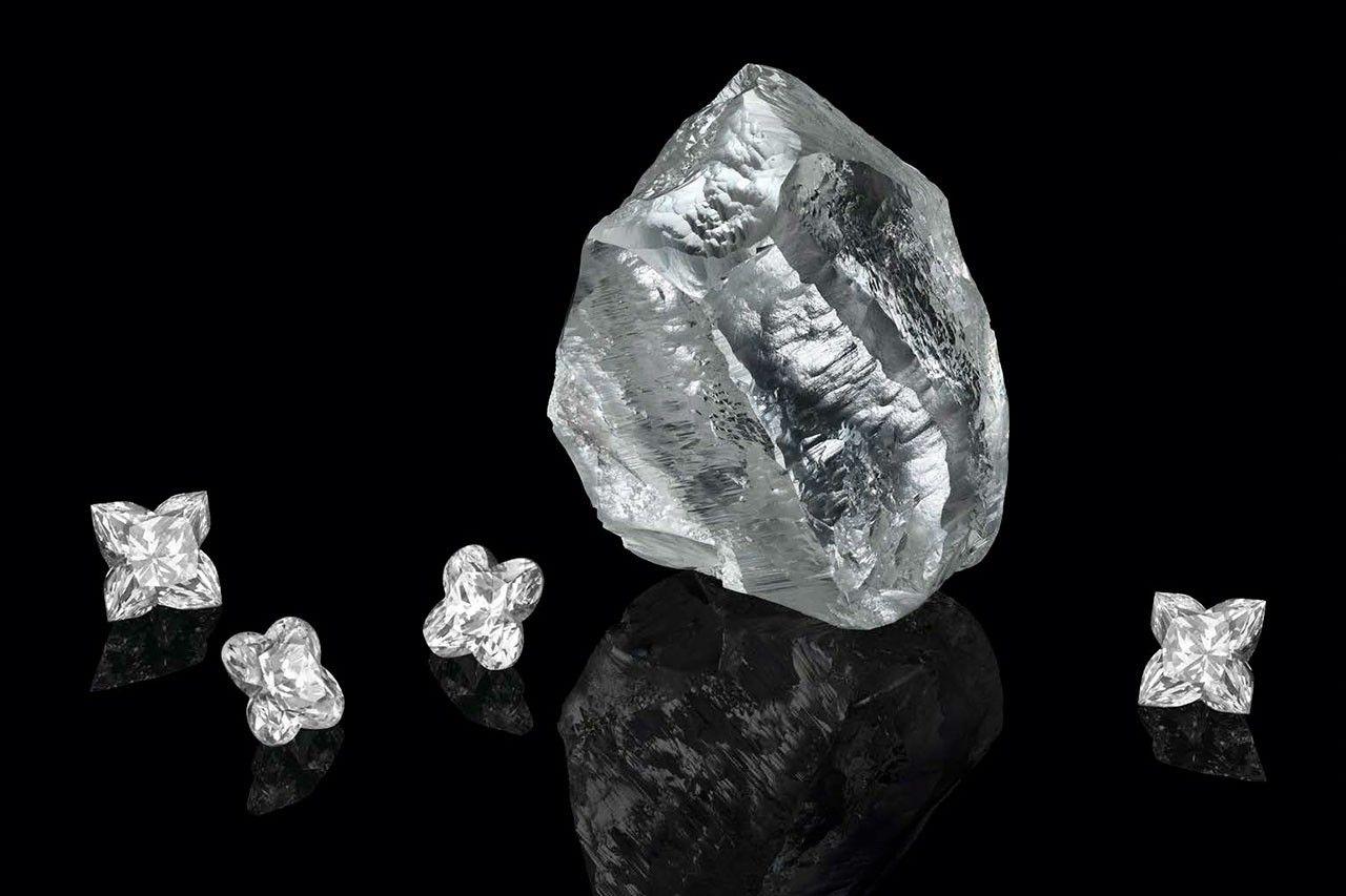 Značka Louis Vuitton získala 549-karátový diamant, ktorý je starý 1 až 2 miliardy rokov
