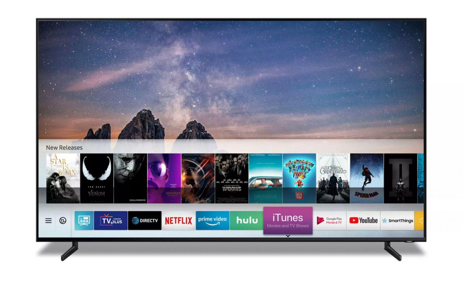 Samsung uzavřel kontrakt s Apple. Nové televize budou mít iTunes i Air Play