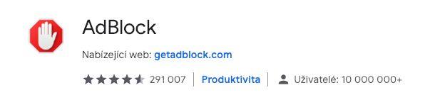 Google již brzy znefunkční několik doplňků blokujících reklamu v prohlížeči Chrome