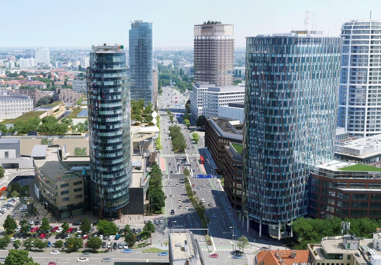 05cc6eedce Ako bude vyzerať Bratislava v roku 2030  Prvý mrakodrap na Slovensku ...
