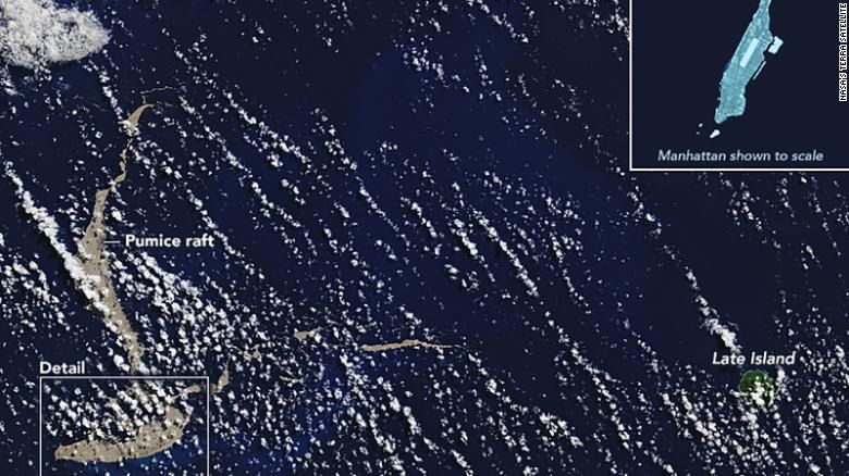 K Austrálii sa blíži plávajúci ostrov, ktorý môže zachrániť Veľkú koralovú bariéru