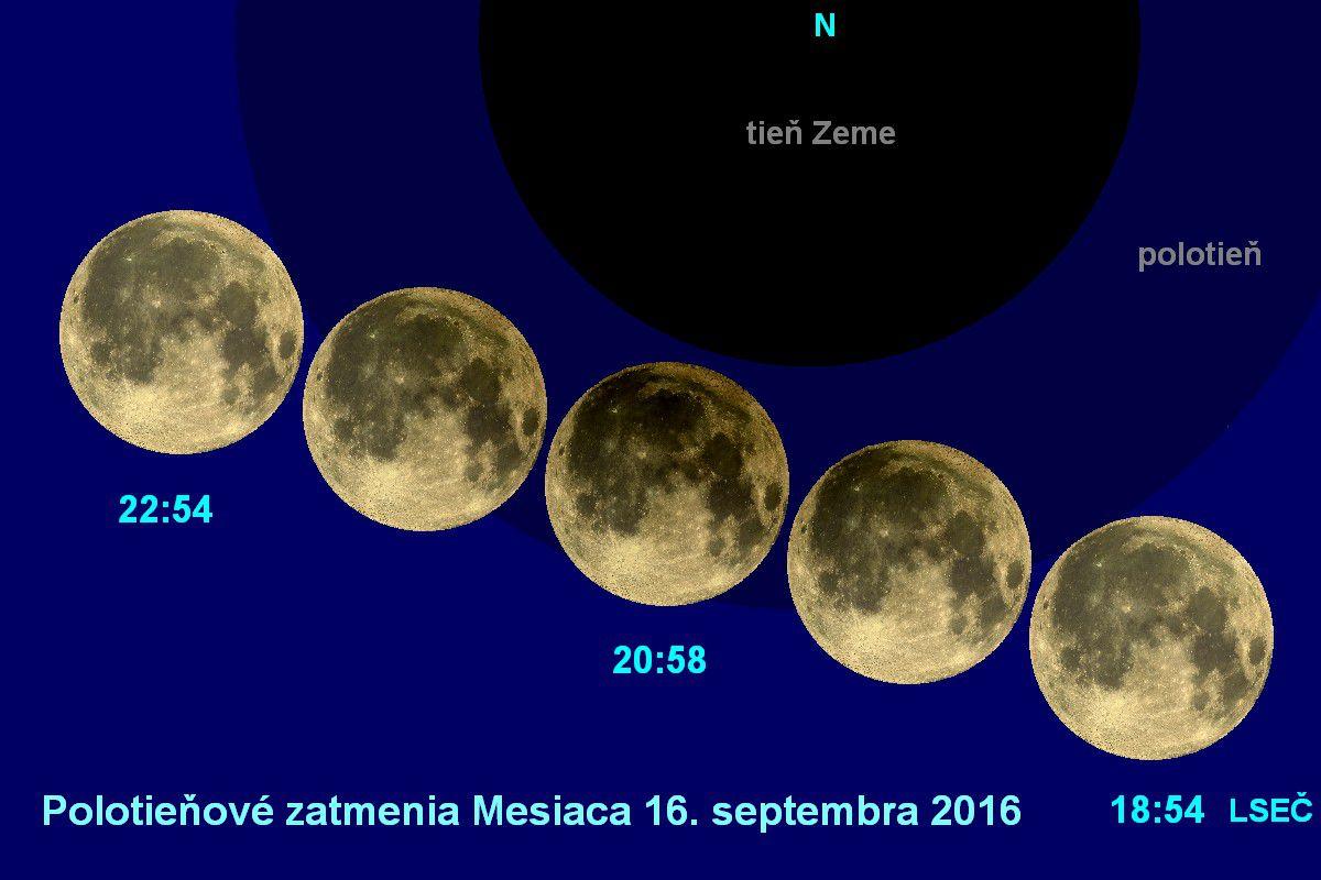 Měsíc nám předvede polostínové zatmění v příznivou večerní hodinu