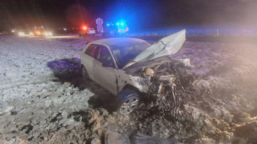 Dopravní nehodu u Třebešova na Rychnovsku nepřežila jedna osoba