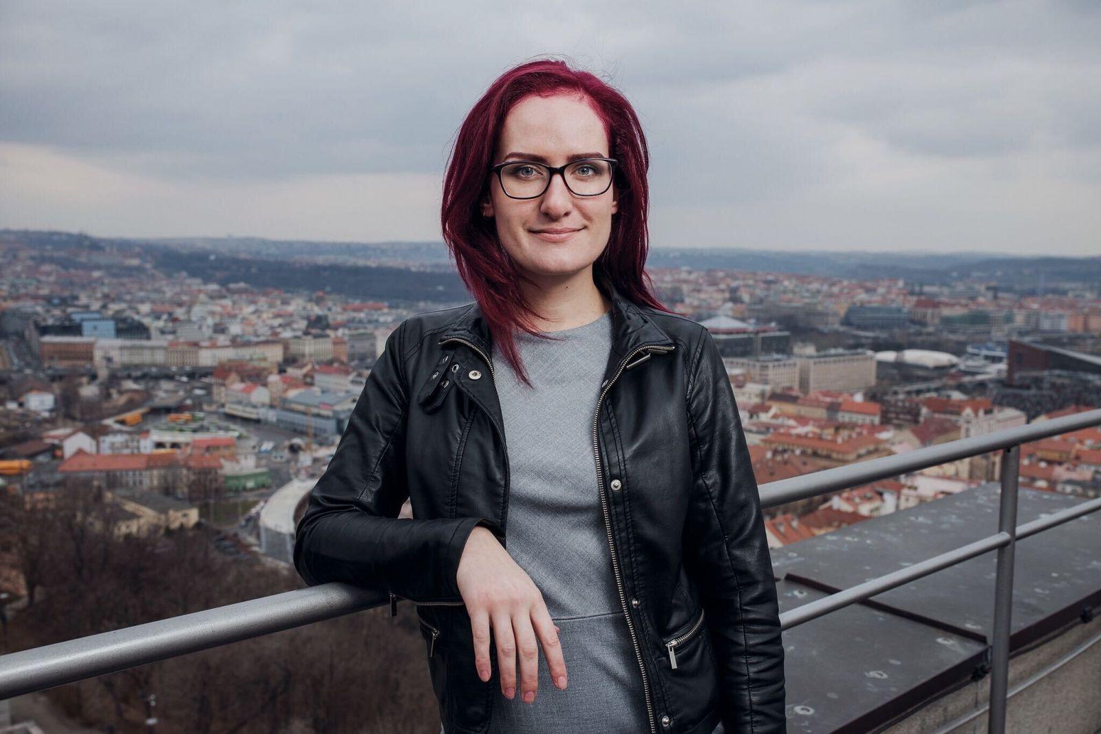 Markéta Gregorová zastupující Českou republiku v evropském výboru věnovaném dezinformacím