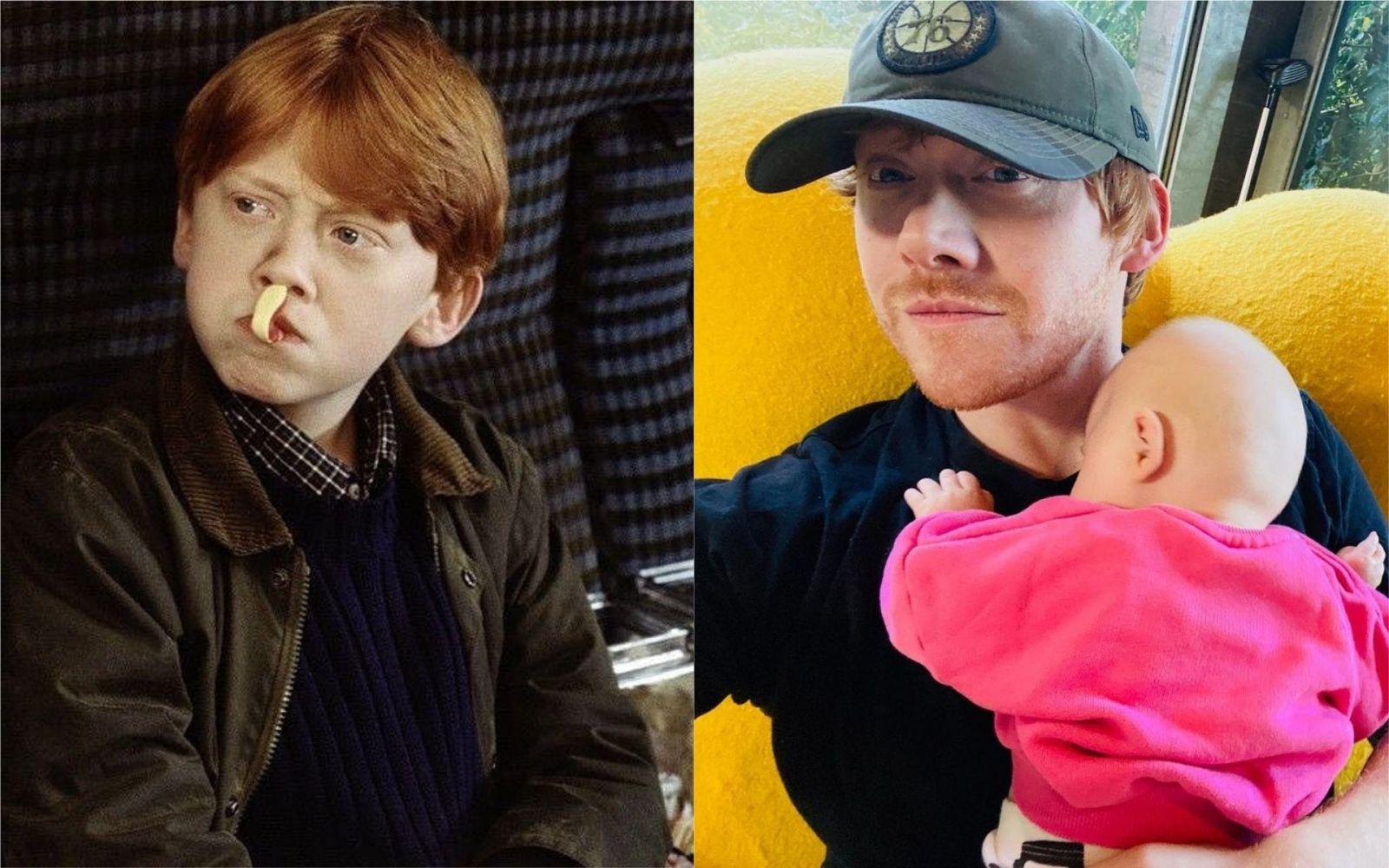 Ron Weasley/Rupert Grint