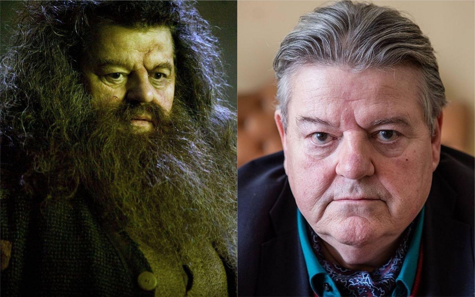 Rubeus Hagrid/Robbie Coltrane