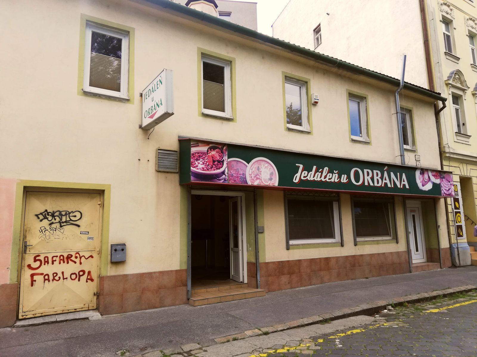 Jedáleň u Orbána na Malom trhu.