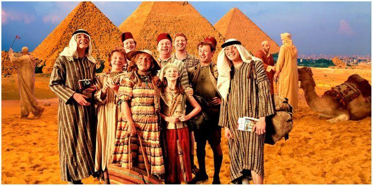 Nájdeš Charlieho na fotke z Egypta?