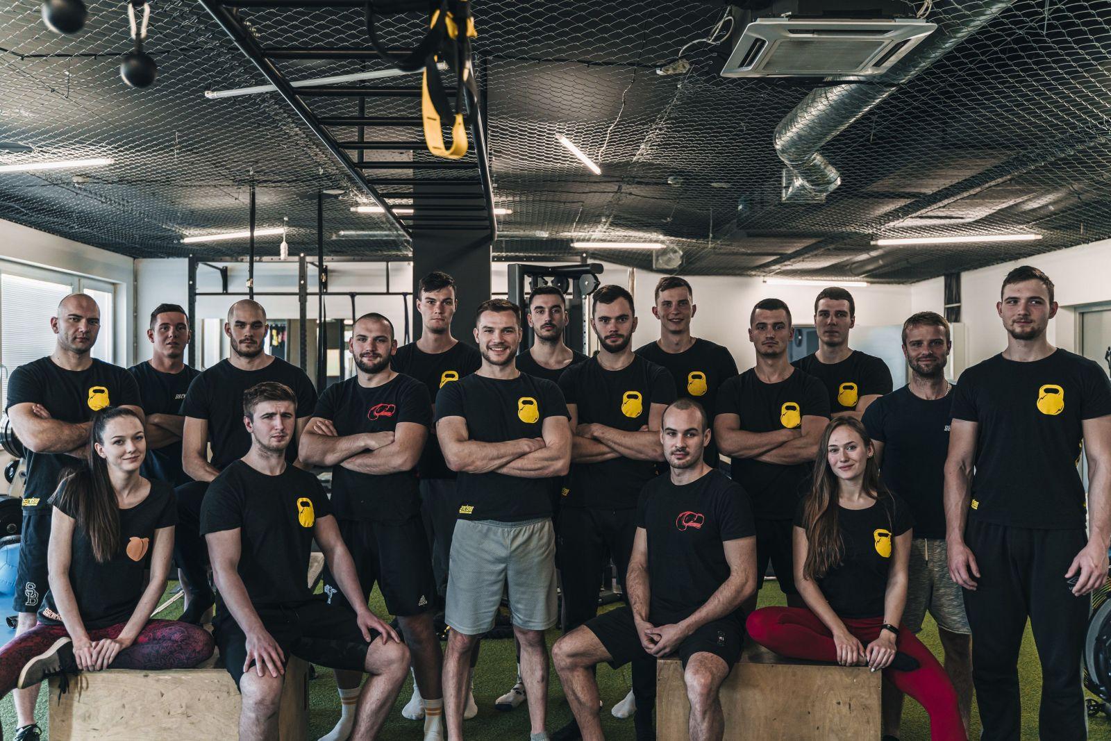 Na snímke tím trénerov z Cvičiska.