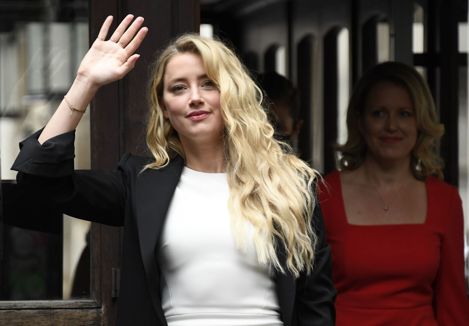 Na fotke nývalá manželka Johnnyho Deppa Amber Heardová