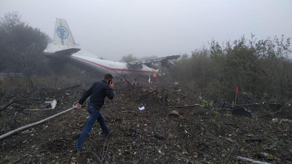 Lietadlo muselo núdzovo pristáť na západnej Ukrajine v piatok ráno.