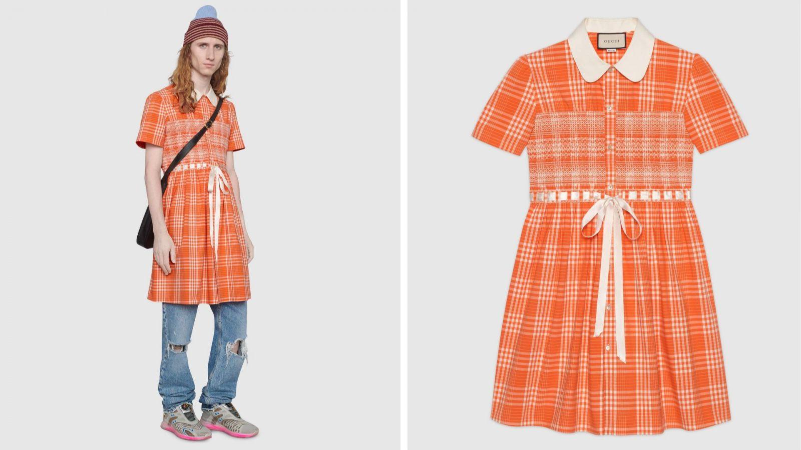Gucci predáva šaty pre mužov za viac ako dvetisíc eur. Talianska značka príjima fluiditu v sexualite a bojuje proti stereotypom