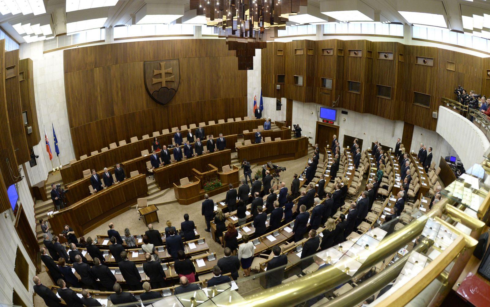 Ustanovujúca schôdza NR SR po voľbách v roku 2016
