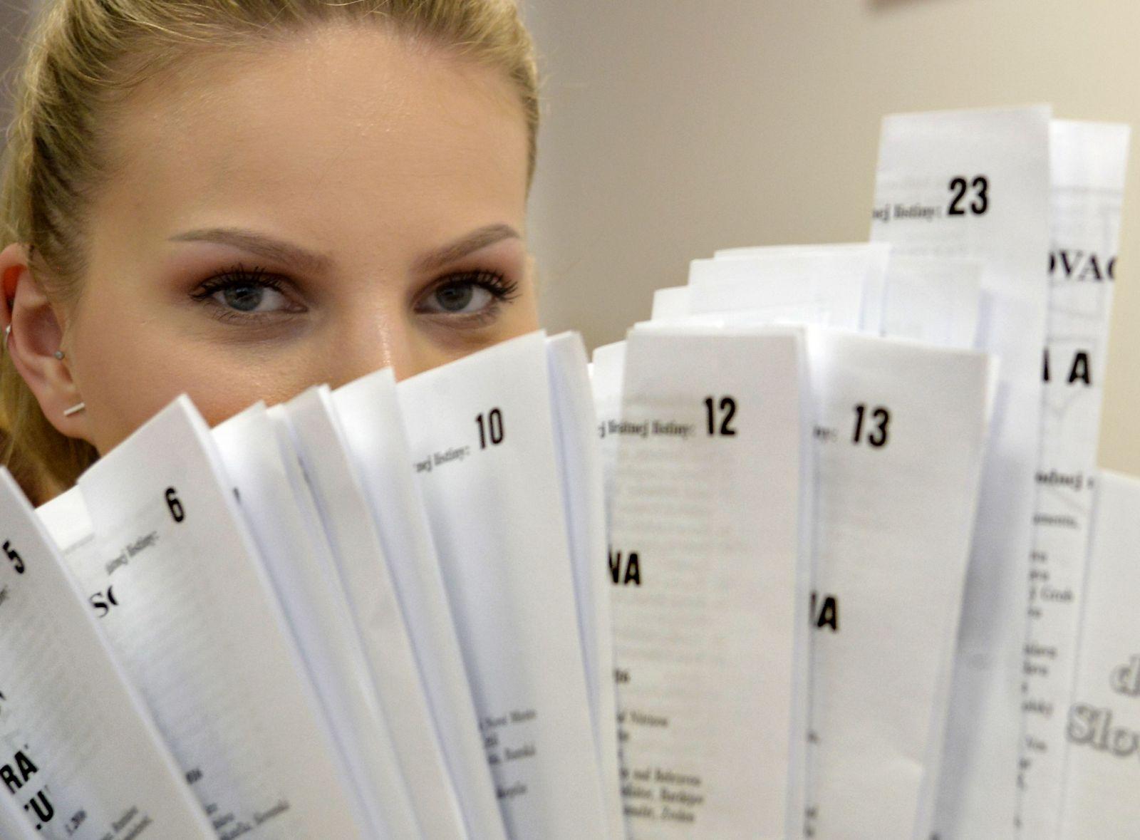 Voliči majú v týchto parlamentných voľbách na výber z 25 subjektov (fotka je ilustračná)
