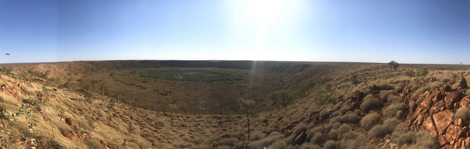 Wolfe creek crater.