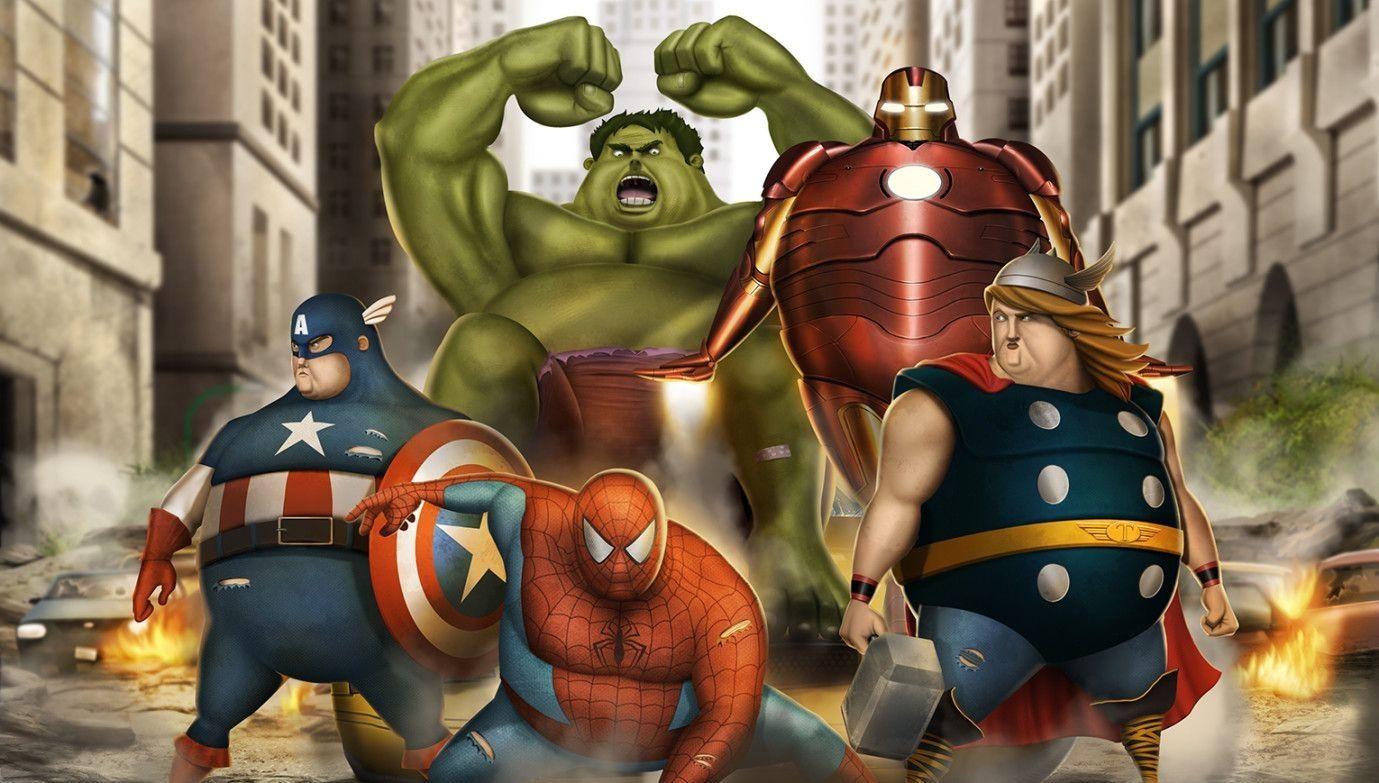 Jedna z budoucích Marvelovek pravděpodobně představí obézního hrdinu