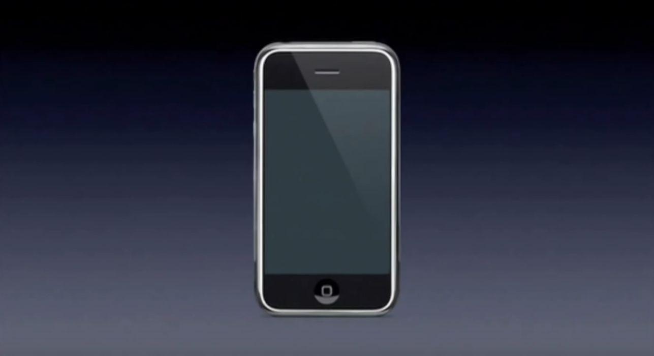 Představení prvního iPhonu 9. ledna