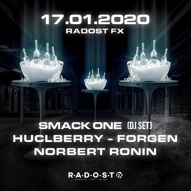 Blíží se mejdan v legendárním klubu Radost. Vystoupí na něm DJs Smack One, Huclberry nebo Forgen